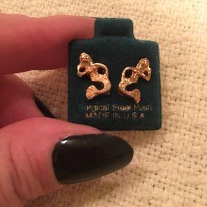 Surgical Steel mermaid earrings